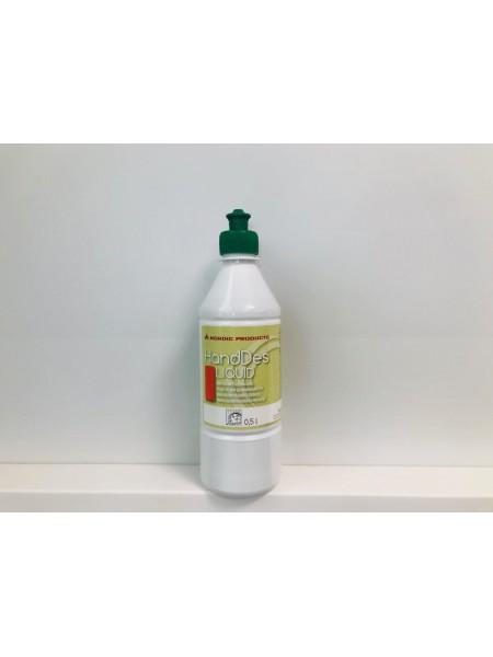 Hand Des Liquid 500 ml - Akcijas cena pasūtot internetā uz spirta bāzes