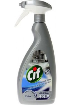 Cif Pprofessional Stainless Steel Cleaner 750 ml