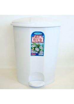 pedāļsp. CLEAN KEEPER/50L/ bēša brūna/pelēkmelna/marmor balts/balta/gaiši zila-zila