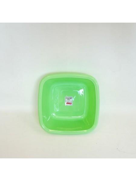 bļoda kvadrāta 29.5x29.5cm/6L/plastm.