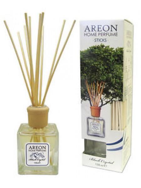 Areon Sunny Home / Black Crystal / Vanilla / Lilac - 85ml/90ml / 150ml - Gaisa atsvaidzinātājs ar bambusa kociņiem