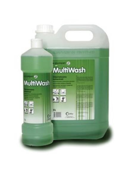 Expert 2 Multi Wash - 1 L / 5 L - grīdu kopšanas līdzeklis ar skujkoku aromatu