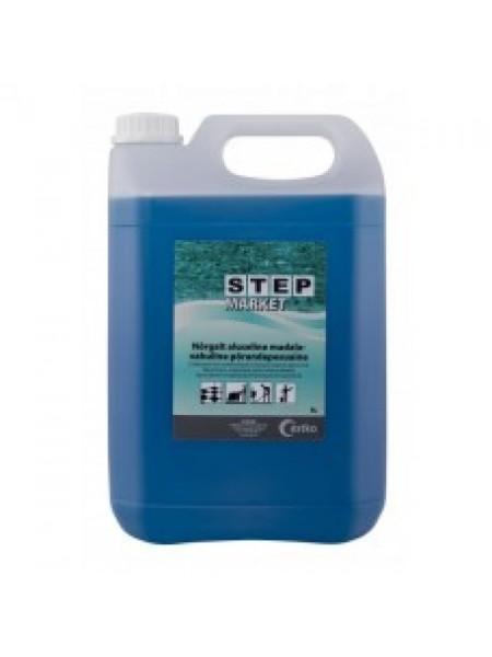 Step Market 5 L - mazputojošs sārmains dažādu virsmu mazgāšanas līdzeklis