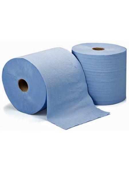 CLEAN industriālais papīrs BLUE 350 m, 2 slāņi