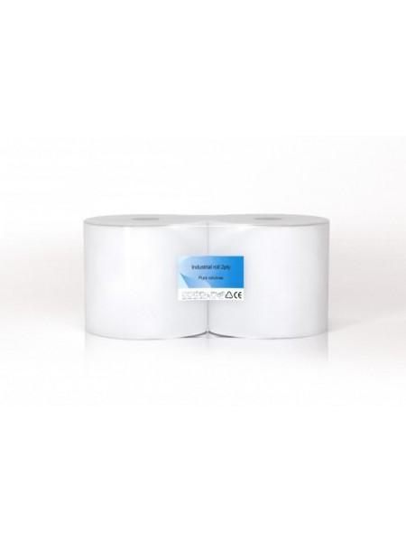 CLEAN industriālais papīrs 460 m, 2 slāņi, balts