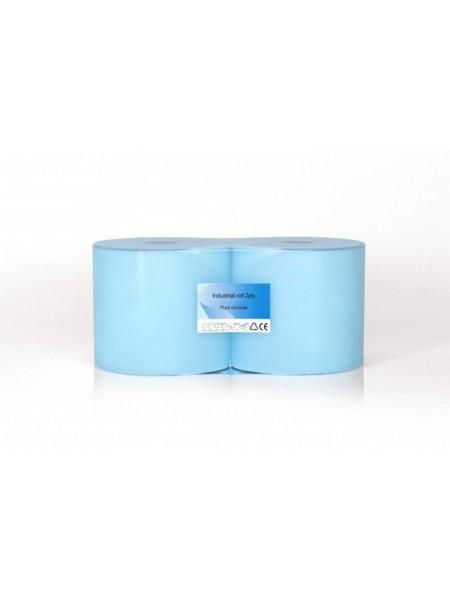 CLEAN ind. papīrs balti-zils, 350 m, 2 slāņi