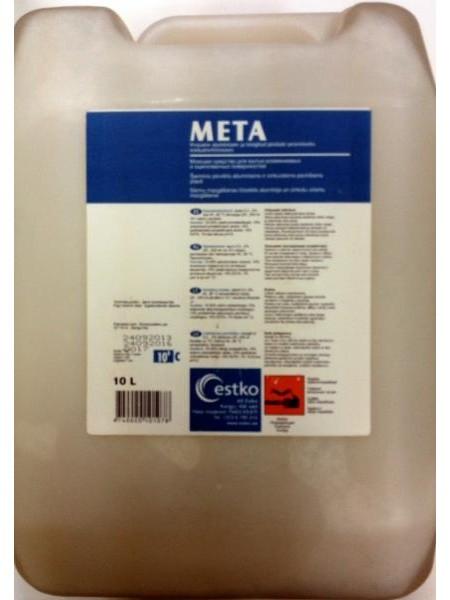 META 10L - Sārmains mazgāšanas līdzeklis alumīnija un cinkotu virsmu mazgāšanai