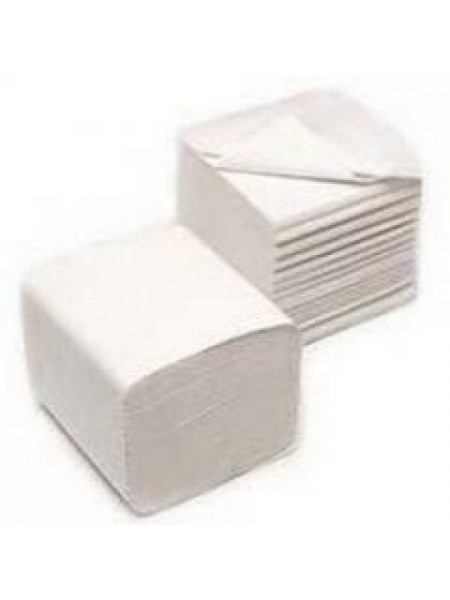 Bulk Pack tualetes papīrs loksnēs, 250 loksnes,2-slāņu, balts