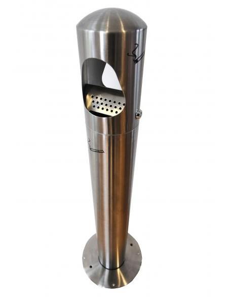 Pelnutrauks uz kājas nerūsējošā tērauda FR