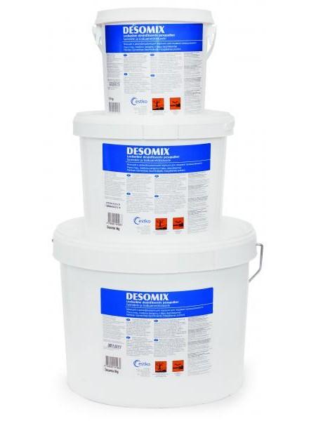 DesoMix 1,8 kg - pulverveida mazgāšanas un dezinfekcijas līdzeklis uz hlora bāzes