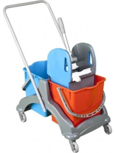 Mop ratiņi 2*18 L plastic UP