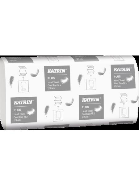 Katrin Plus Hand Towel One Stop M 2 - 145 loksnes, 2 slāņi, baltas