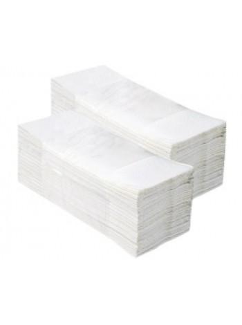 CLEAN roku salvetes V-Fold White, 150 loksnes, 2 slāņi, baltas,  platās