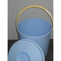 Pārtikas plastmasas spainis 16L ar vāku - dažādās krāsās