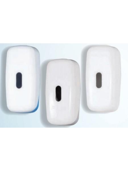 Prodifa uzpildāms šķidro ziepju padevējs 600ml - balts/balts + pelēks/balts + zils