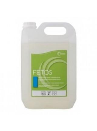 Fetos - 1L / 5L - Grūti notīrāmu tauku un olbaltumvielu piesārņojuma noņemšanai no grīdas un citām virsmām lielās virtuvēs, pārtikas rūpniecības uzņēmumos.